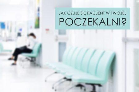pacjent w poczekalni oczekujący na wizytę